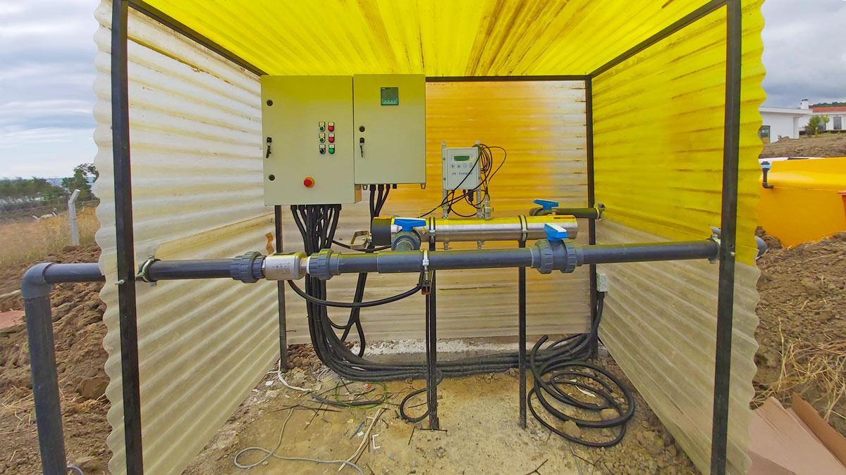 INNOQUA demo site in Sinop: UV purification