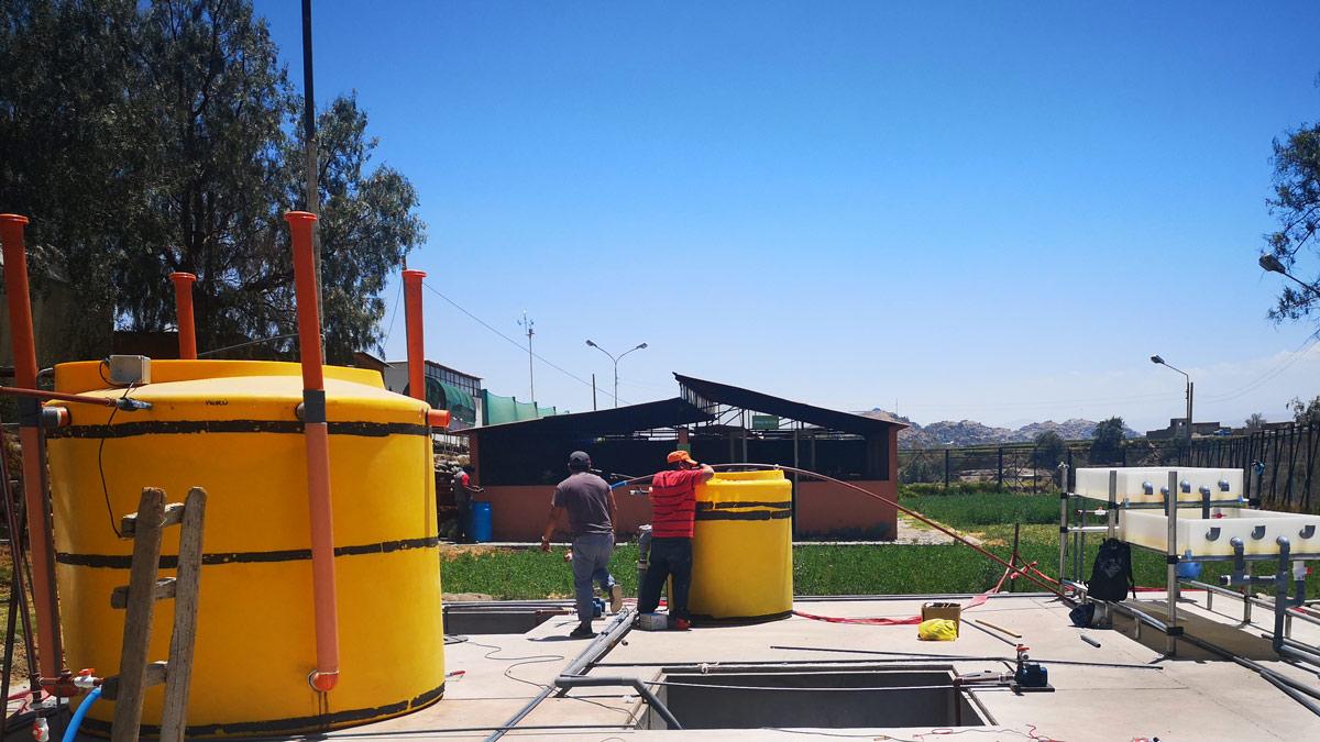 Installing the INNOQUA system at the UCSM campus