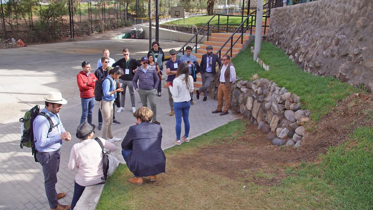 INNOQUA project partners tour the UCSM campus