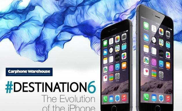 Эволюция iPhone [Инфографика]