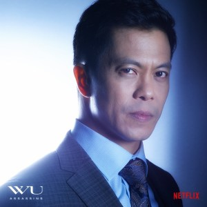 Byron Mann plays Uncle Six in the action-packed sci-fi series.