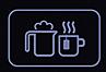 Süper otomatik kahve makinesi ile süt köpüğü yapın.