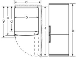 Buzdolabı kurulum planı