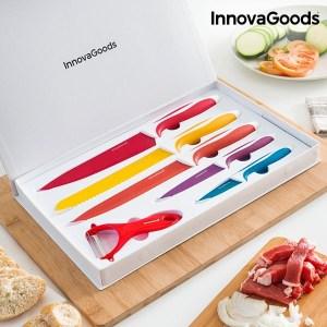 Conjunto de facas cerâmicas e descascador InnovaGoods (6 Pçs)