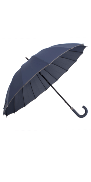 Guarda-Chuva Médio Azul Marinho/ Cinzento