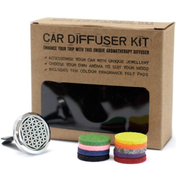 Kit de difusor para carros - Flor da Vida