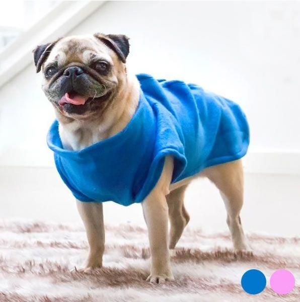 Manta Snug para Cão porte pequeno - Azul