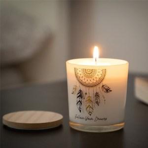 Vela aromática Cata-Sonhos Mandala