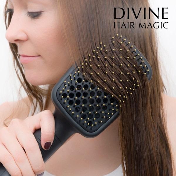 Escova Secadora e Estilizadora de cabelo