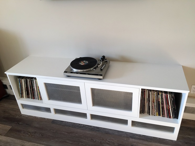 Custom Entertainment Stand