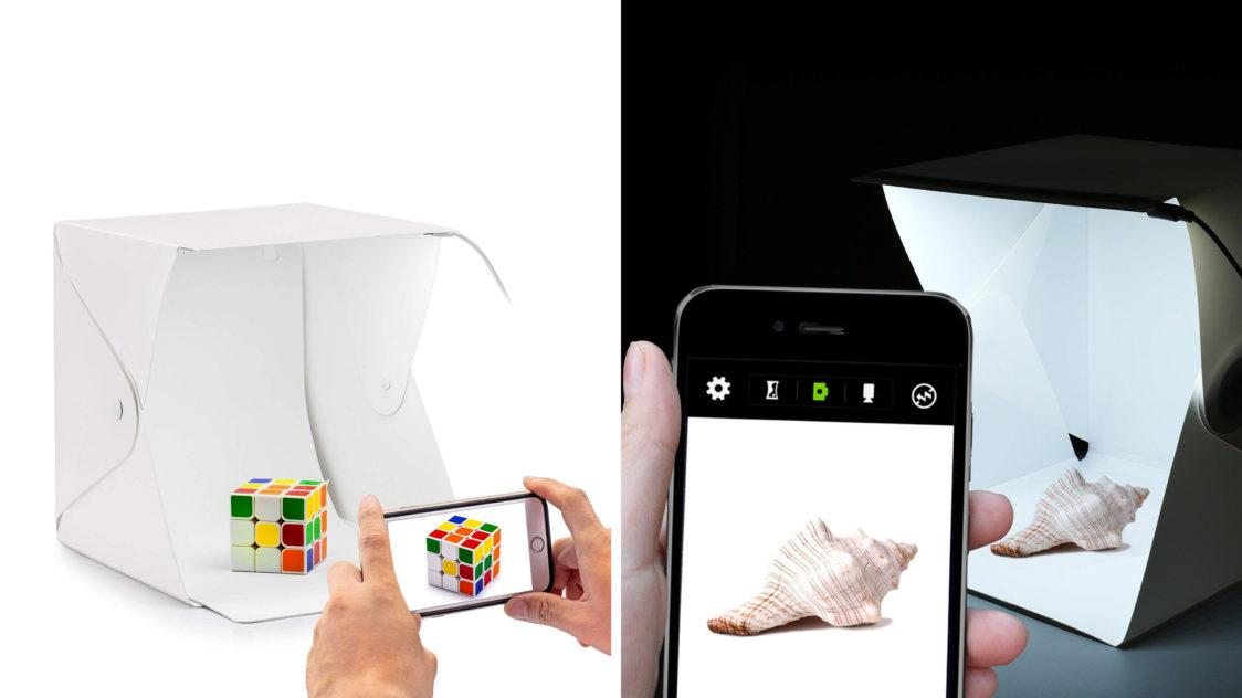 Caja de luz Gleading e1551396668848 - Accesorios para tus Fotografías con Celular