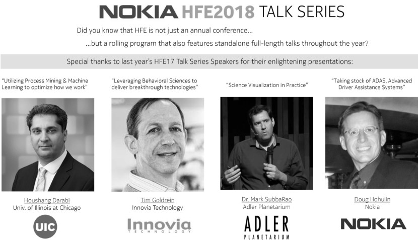 Nokia HFE Talk Series