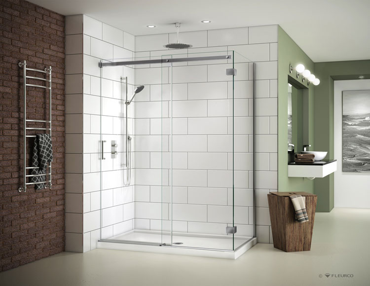 contemporary acrylic shower base pan