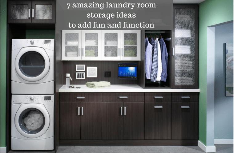 7 amazing Columbus laundry room storage and cabinet ideas on Amazing Laundry Rooms  id=59144