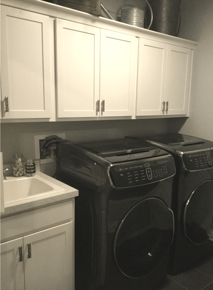 7 Columbus laundry room storage zones - cabinet and ... on Laundry Cabinets  id=68859
