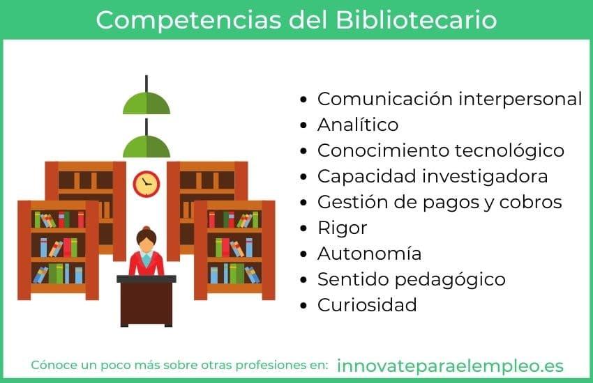 competencias de un bibliotecario