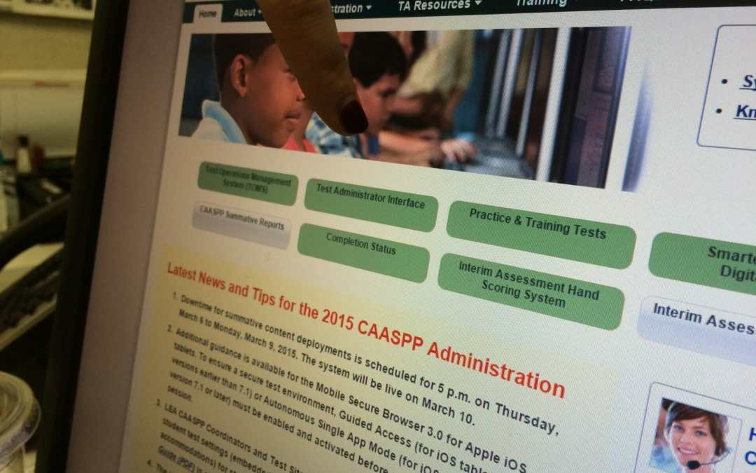 One School Shares Their Experience Doing a Test Run for the New SBAC Assessment