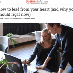 Lead from your heart