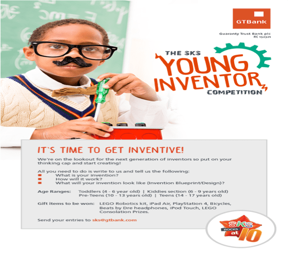 Gtbank unveils sks young inventor competition innovation village smart kids save malvernweather Images