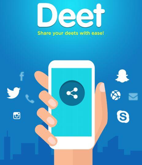 Deet App Feature image