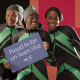 Nigerian Women Bobsled team