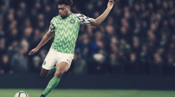 Nigeria Super Eagles 2018 Kit