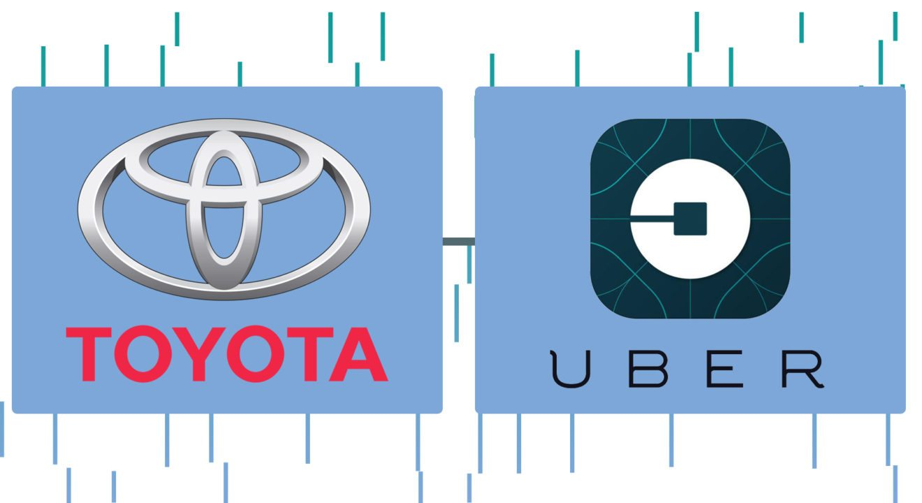 Toyota Motor Corp Invests 500 Million In Uber For Self Driving Cars