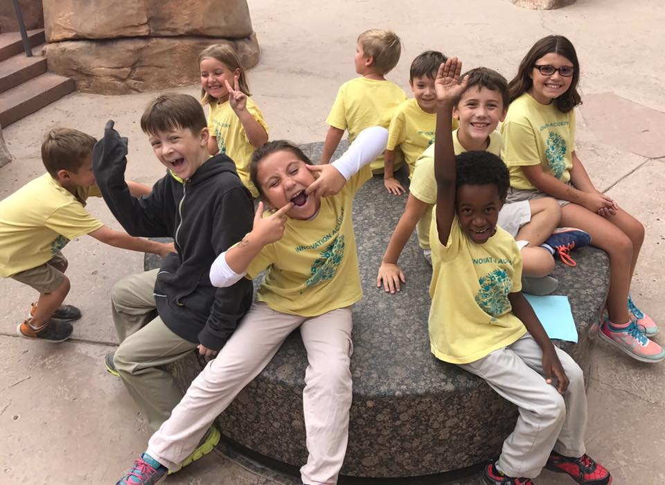 las vegas montessori-Innovation Academy field trips