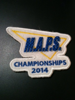 Custom embroidery sample from Innovation By Design.