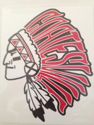 Coatesville Indian Head Cling