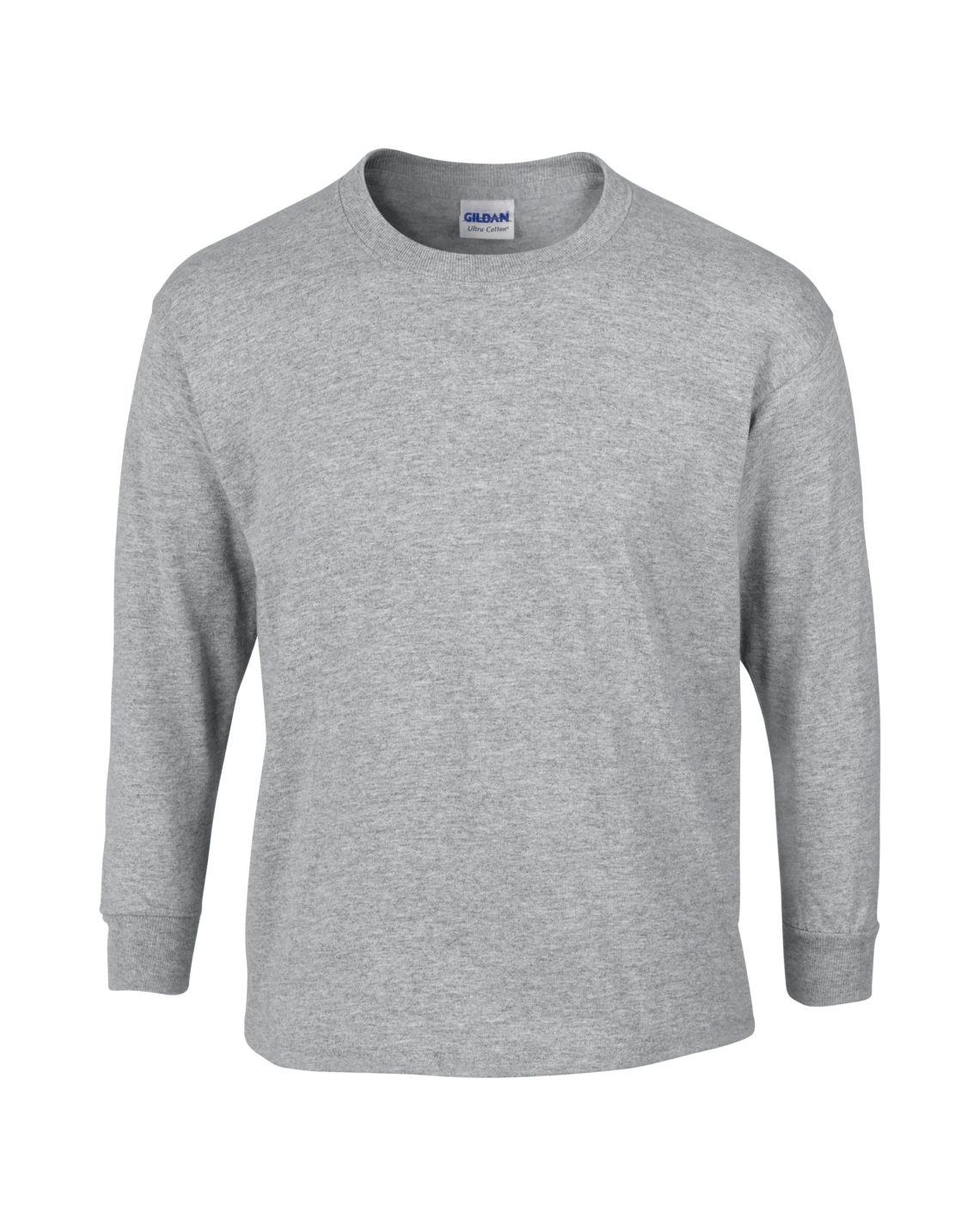 Gildan Youth Long Sleeve Cotton T Shirt G2400b Innovation By Design