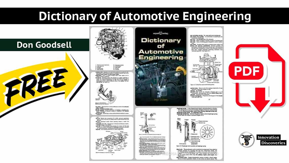 Dictionary of Automotive Engineering   PDF