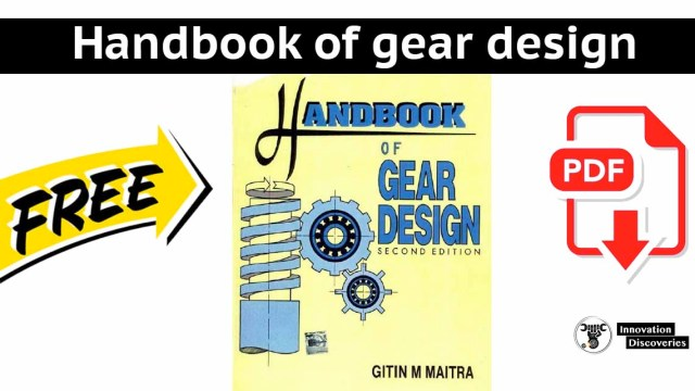 Handbook of gear design | PDF