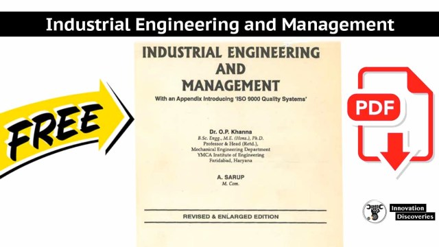 Industrial Engineering and Management   PDF
