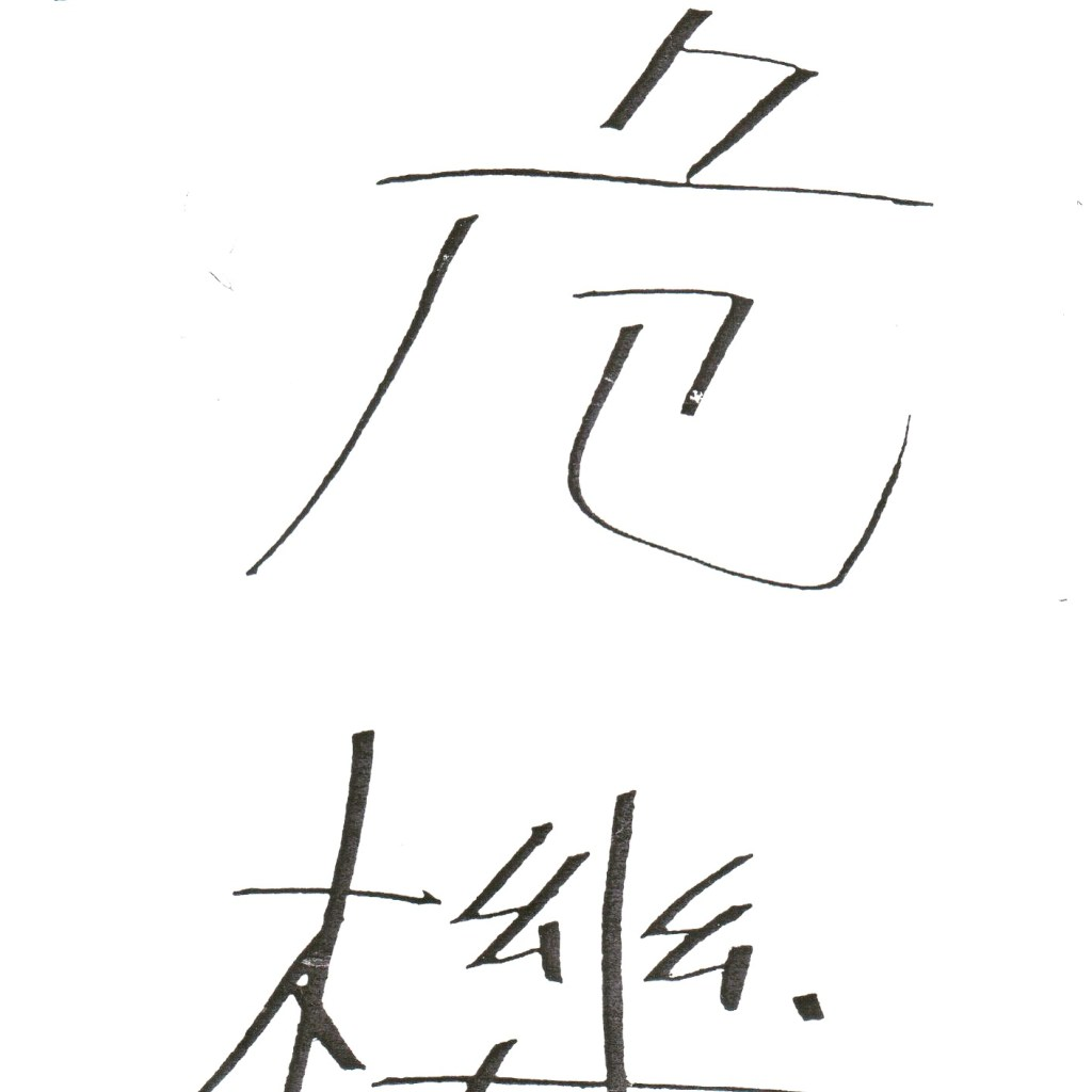 The Chinese Character for Crisis; Danger + Opportunity (From The Ten Strategies For Leading At The Edge)