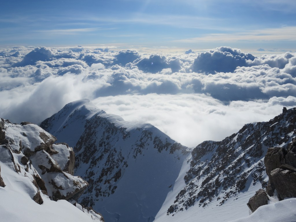 Naira Musallam and Tim Lawton: View From The Top of Denali (Image Credit: Naira and Tim)