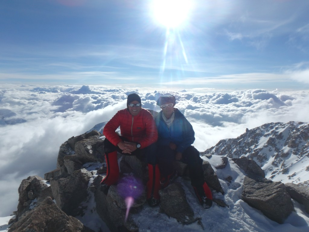Naira Musallam and Tim Lawton: At The Top of Denali (Image Credit: Naira and Tim)