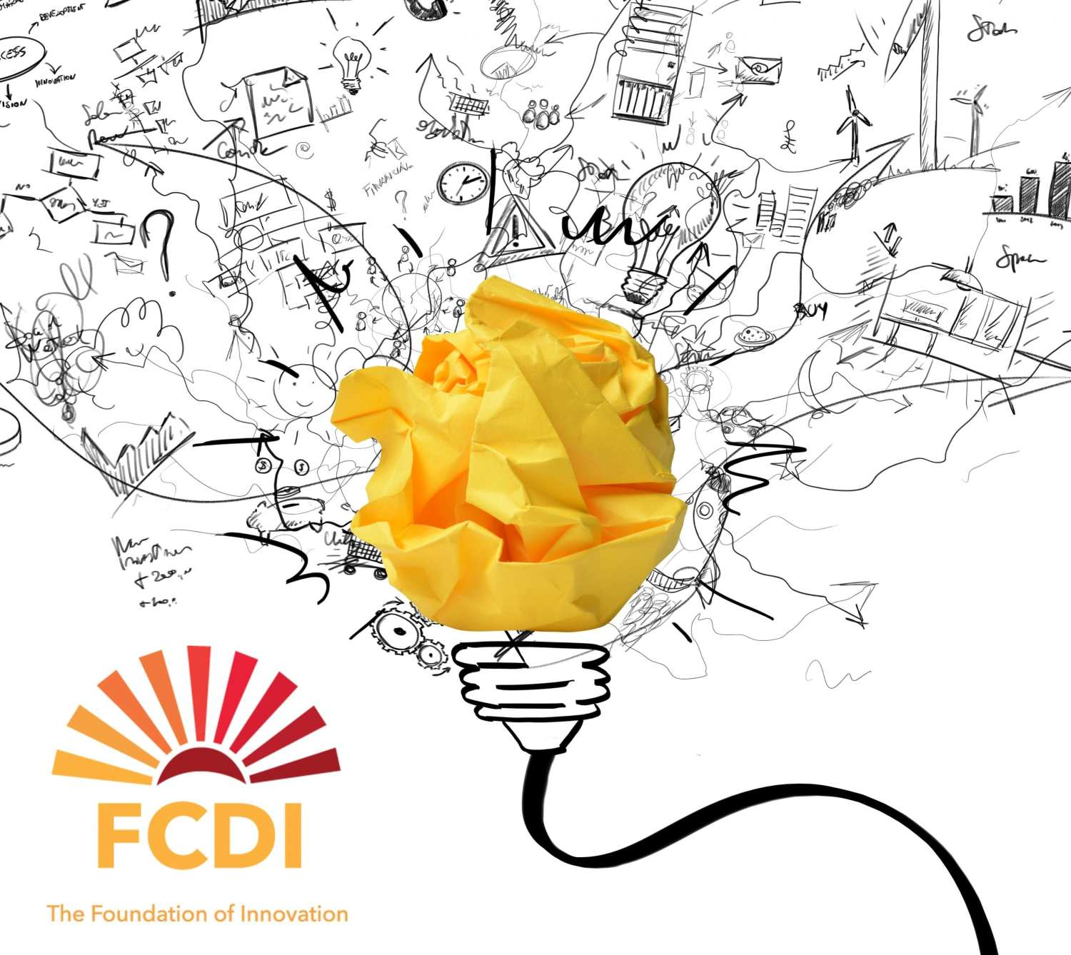 FCDI - THE FOUNDATION OF INNOVATION with logo