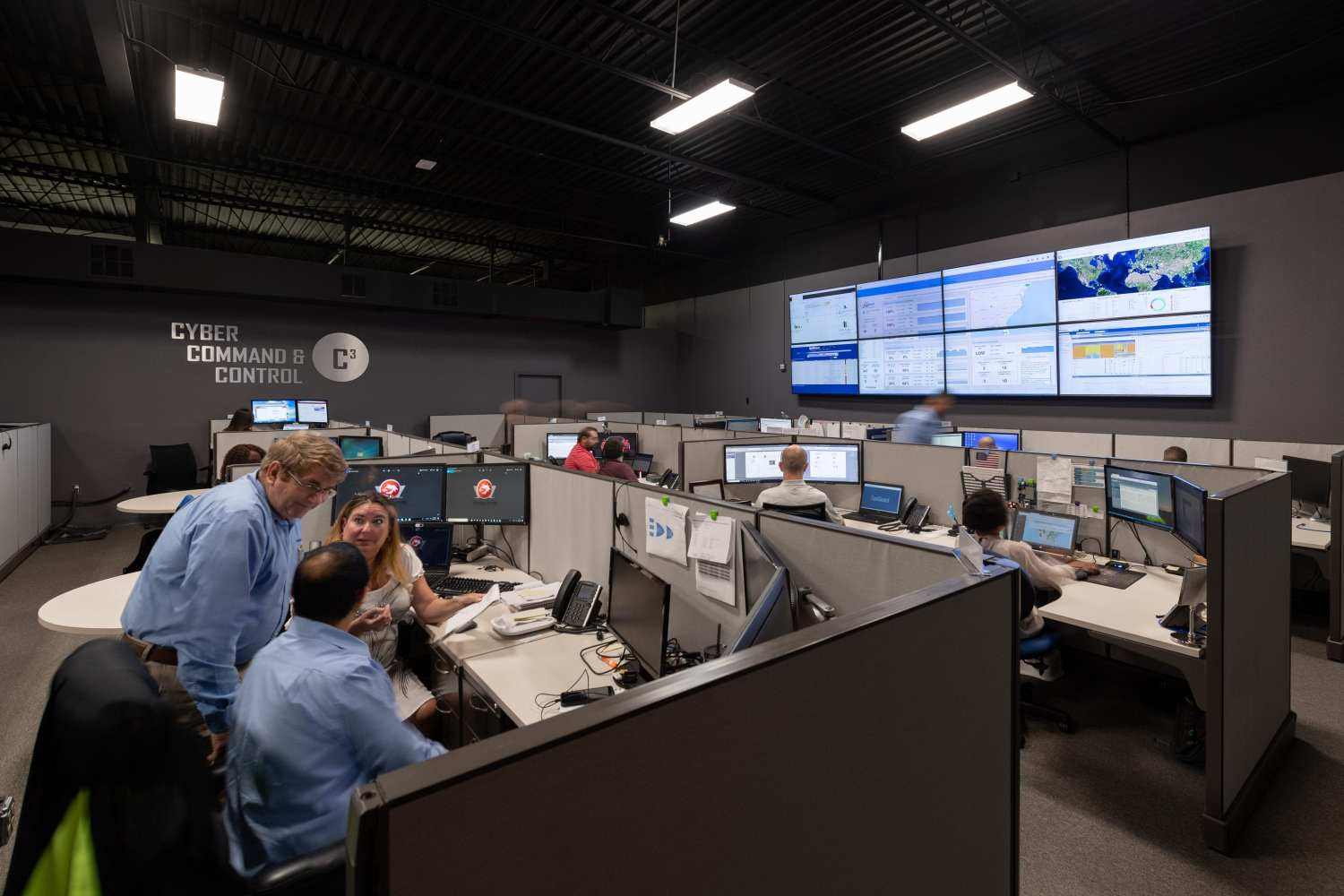 VasoTechnology Cyber Command Center