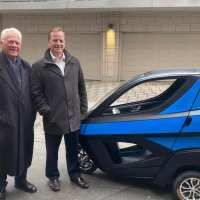 Stronach has plan to build electric cars in Canada