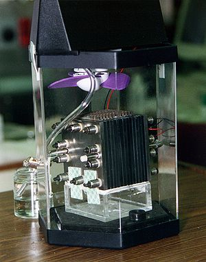 Demonstration model of a direct-methanol fuel ...