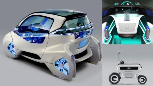 Smart Car Honda >> Honda Microcommuter Concept Outsmarts The Smart Innovation Toronto