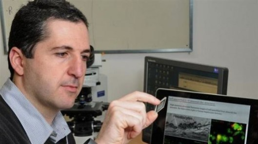 Dr. Yaakov Nahmias of the Hebrew University of Jerusalem is one of the scientists who developed the new growth factor