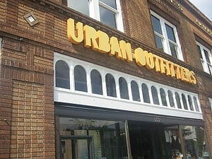 Urban Outfitters in Pasadena, California