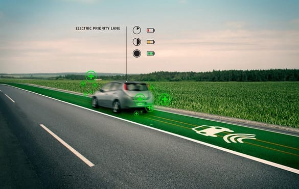 Electric-Car Charging Highway Of The Future