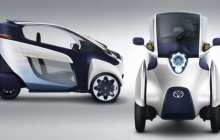 Toyota shows the i-Road – a fully-enclosed, tilting, electric three-wheeled competitor for the motorcycle