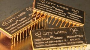 Commercially-available NanoTritium battery can power microelectronics for 20+ years