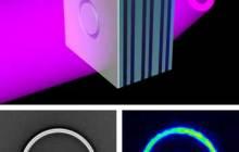 Scientists Build Record-Setting Metamaterial Flat Lens