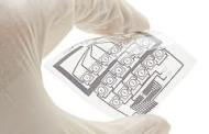 Printing silver onto fibers could pave the way for flexible, wearable electronics