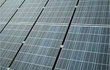 Power boosting self-cleaning solar panels